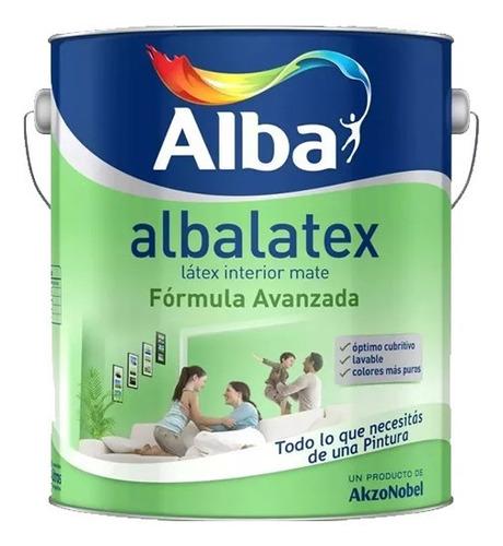 pintura latex interior albalatex x 20 lts blanco venda