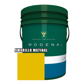 Pintura Latex Interior Exterior Color Modena 20 Litros