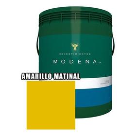 Pintura Latex Interior Exterior Color Modena 4 Litros