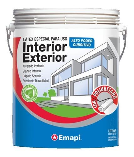 pintura latex interior / exterior - emapi 20 litros