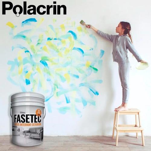 pintura latex interior exterior fasetec rodillo el galgo