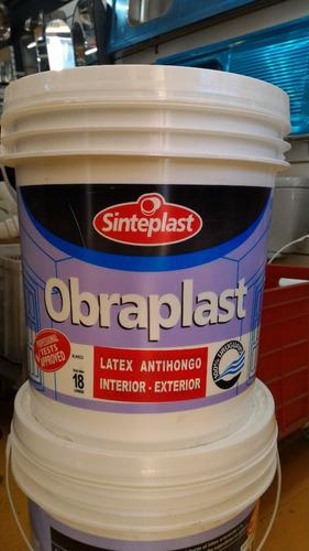 pintura latex sinteplast