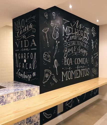 pintura / lettering em parede