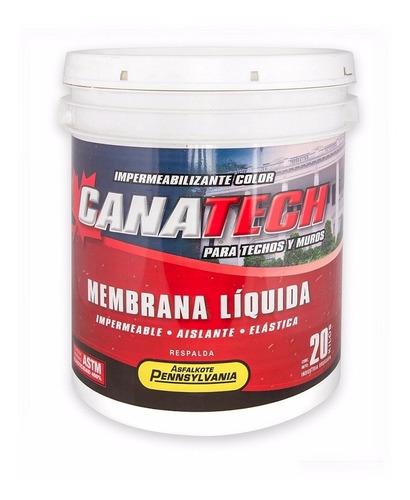 pintura membrana liquida impermeabilizante canatech 20k