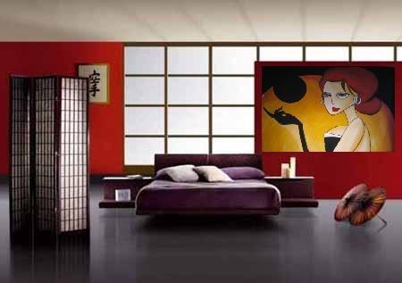 pintura moderna y decorativa