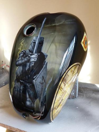 pintura motos custom, aerografia, cascos, otras superficies