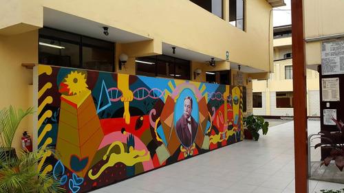 pintura mural arte