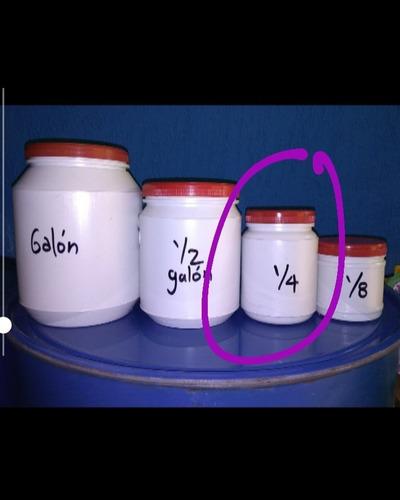 pintura neón - set 4 unidades de 1/4 de galón.
