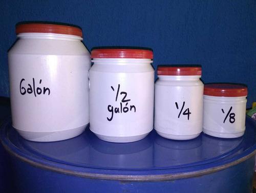 pintura neón - set 4 unidades de 1/8 de galón.