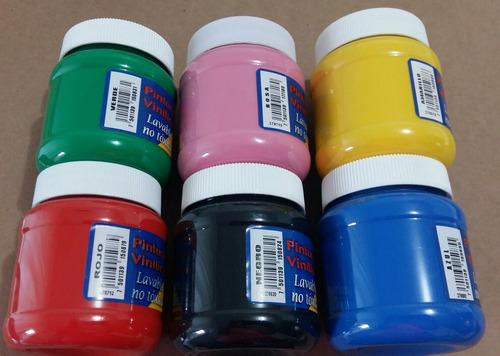 pintura no toxica vinílica 250ml