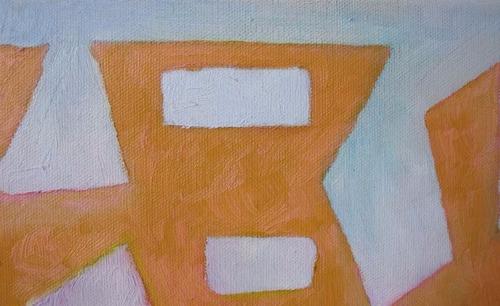 pintura óleo, abstracto, hermanos