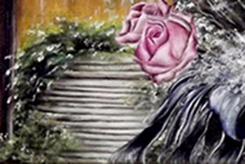 pintura óleo natureza morta