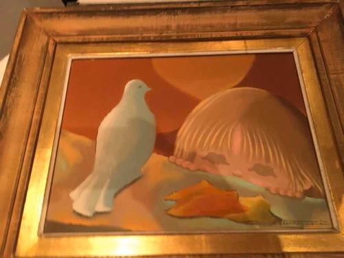 pintura óleo original del pintor ricardo garegnani