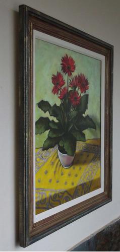 pintura óleo tela nat