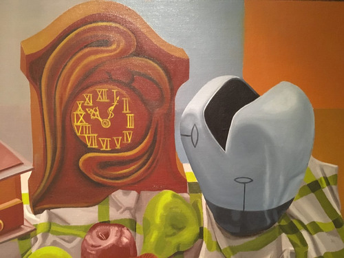 pintura original oleo sobre lienzo - oscar capristo