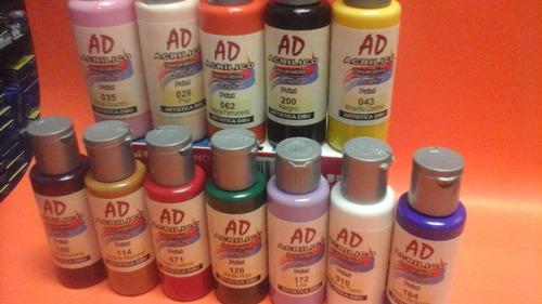 pintura para acrilico