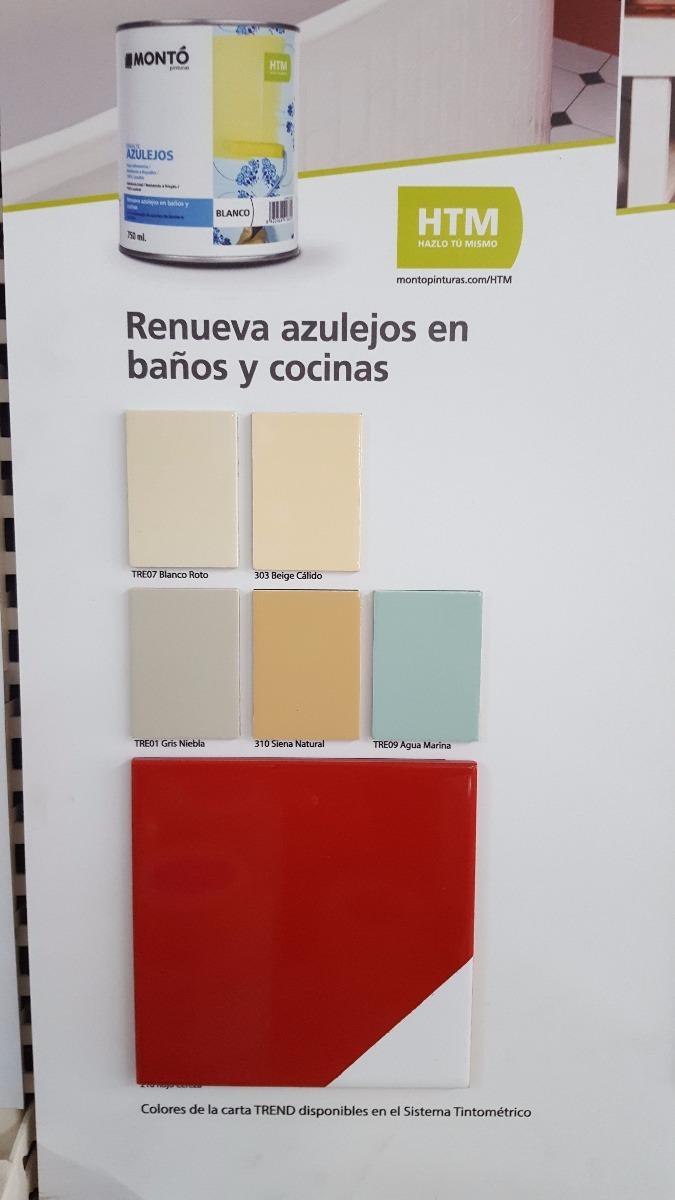 Pintura para azulejos cocina fabulous pintura cocina color gris azulado with pintura para - Pintura para azulejos bruguer ...