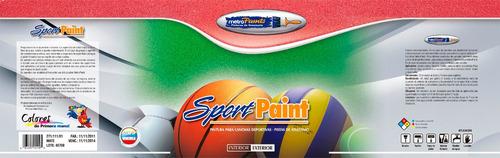pintura para canchas sport-paint