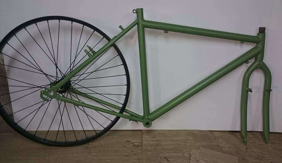 Pintura Para Cuadros Bicicleta Arenado Y Fosfatizado! - $ 700,00 en ...