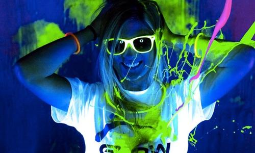 pintura para fiesta neón ideal para lanzar!!
