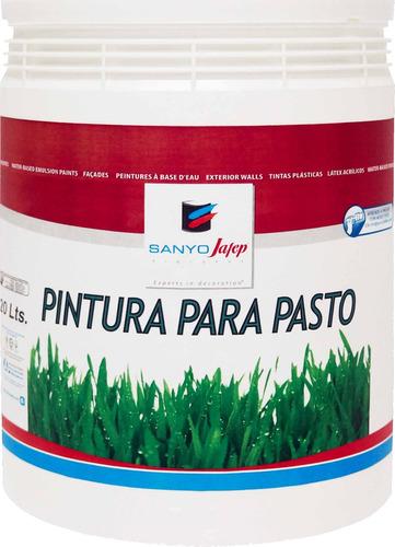pintura para pasto blanca sanyo jafep 20lt envío gratis* y +