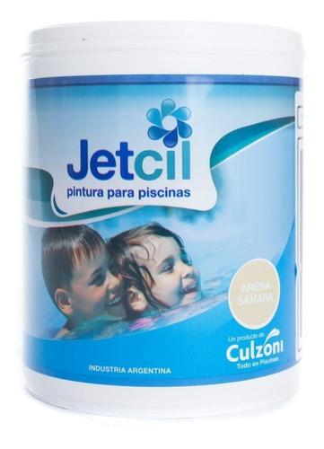 pintura para piscinas jetcil arena sahara por 1 litro