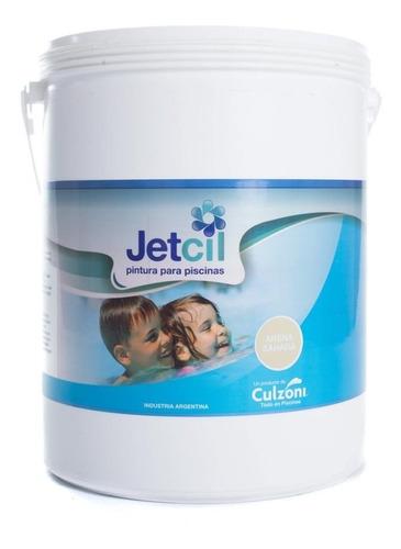 pintura para piscinas jetcil arena sahara por 4 litros