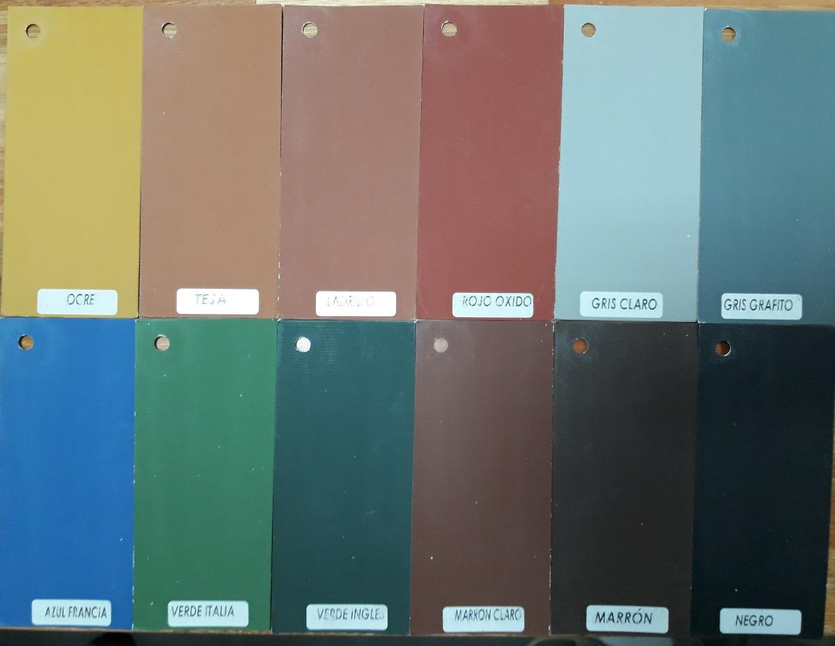 Pintura para piso exterior interior colores varios 4 lt - Pintura interior colores ...