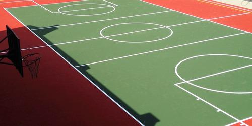 pintura para pisos deportivos 1 lt tersuave varios colores