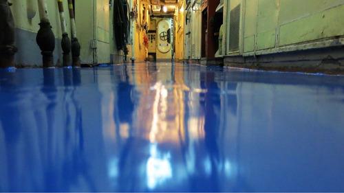 pintura para pisos epoxi alto tránsito y porcelanato liquido