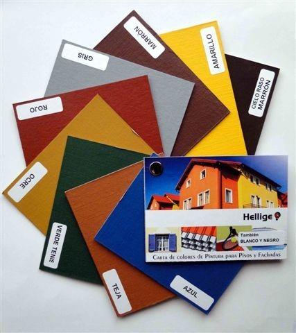 pintura para pisos y fachadas negra 1 litro