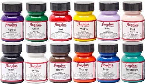 Angelus Leather Shoe Painting Kit