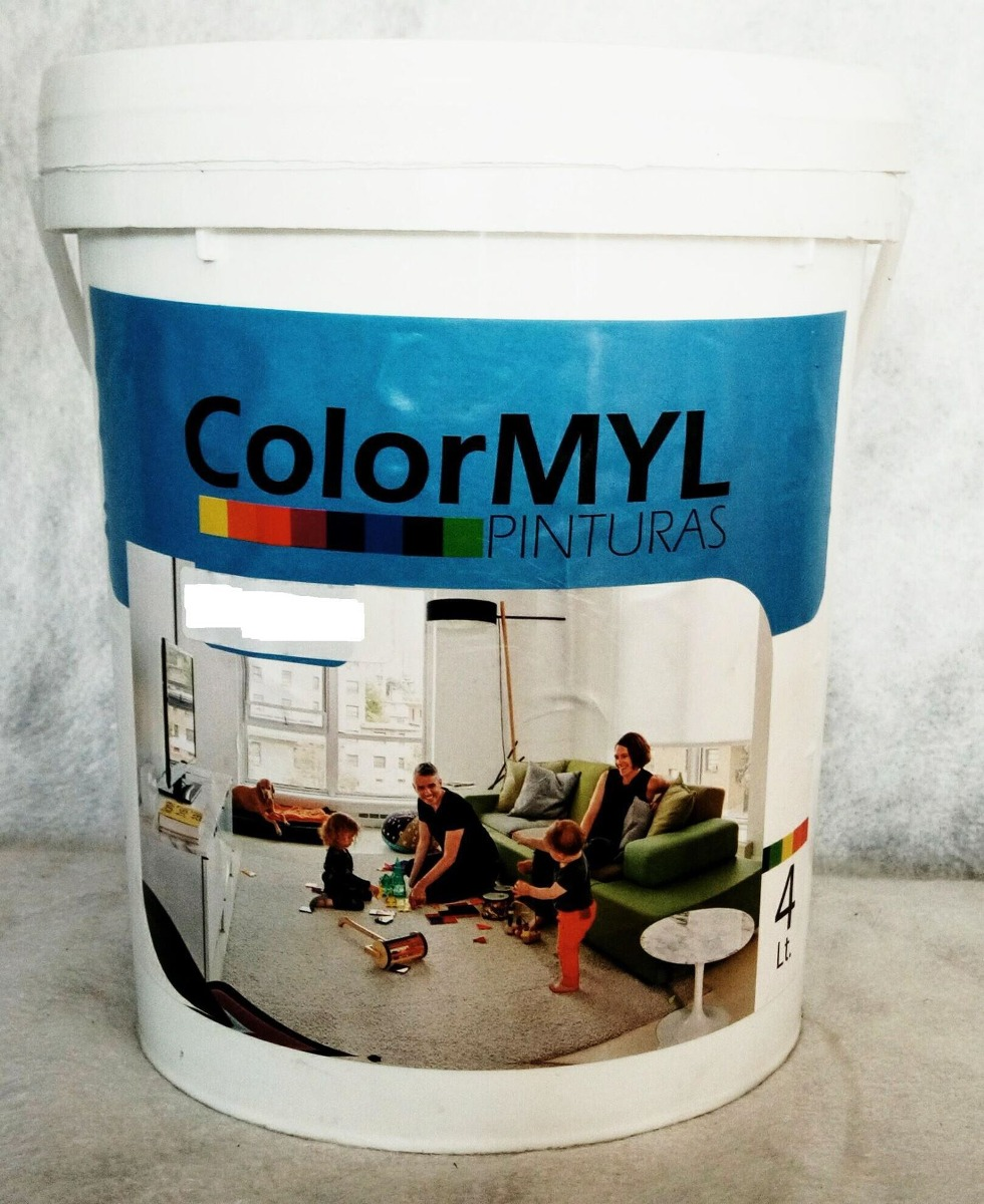 Pintura pared exterior interior verde manzana colormyl 4 - Pintura pared verde ...