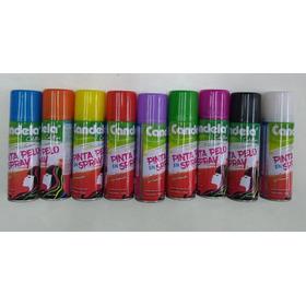 Pintura Pelo Lavable Candela Spray X1