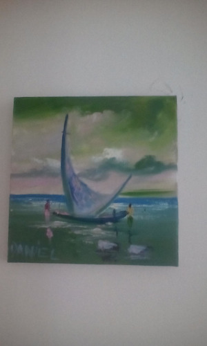 pintura pescadores