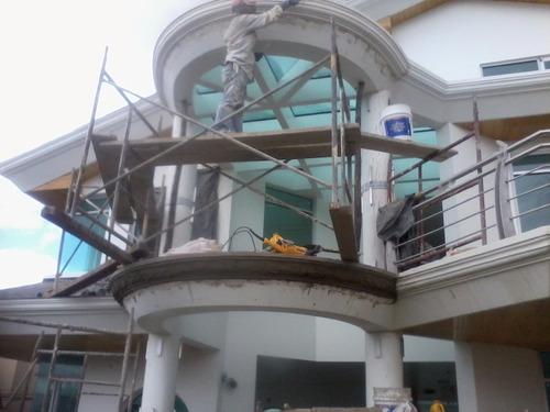 pintura - pintores - gypsum- estucado - fachadas modernas