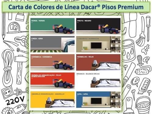 pintura pisos dacar premium 0.9 l colores de linea
