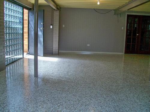pintura pisos epoxico rocksolid  garage kit completo 60 m2