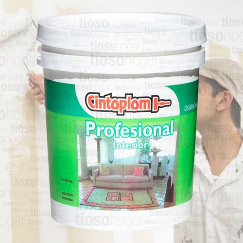 pintura profesional premium latex interior 20 lts antihongos