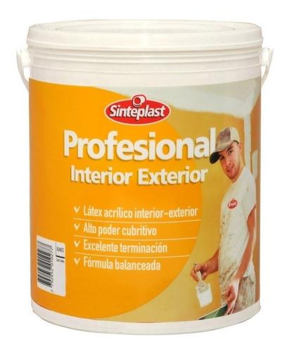pintura profesional sinteplast interior exterior colores 4l