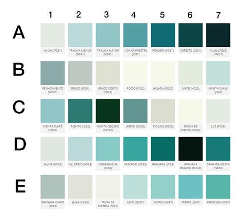 pintura removible plasti dip auto chico galon + diluyente color a elección gamas azules verdes