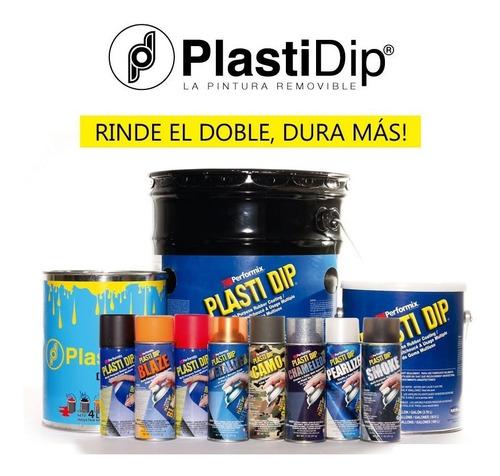 pintura removible plasti dip auto mediano color grafito