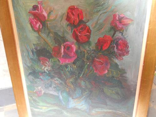 pintura rosas de emma  soffici