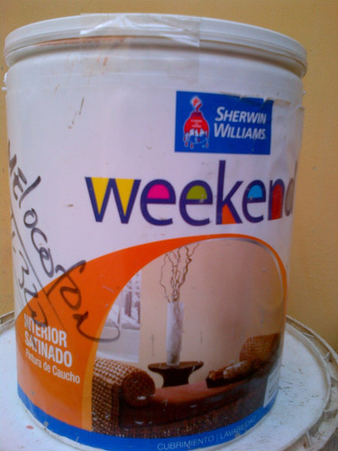 Pintura sherwin williams weekend color melocoton (271 320)   bs ...