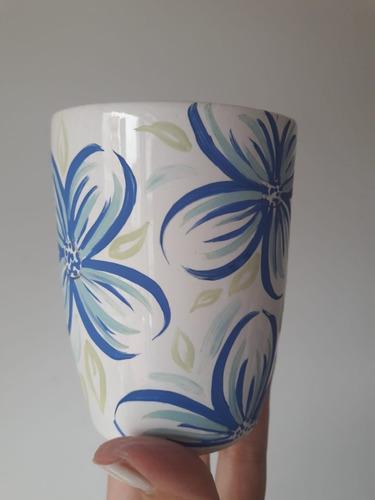 pintura sobre porcelana y ceramica
