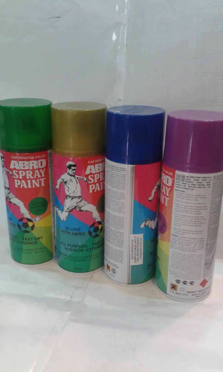 Pintura spray aerosol grafitti abro u s rapido - Pintura con spray ...