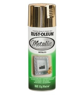 pintura spray aerosol rust-oleum bronce metalizado 395ml