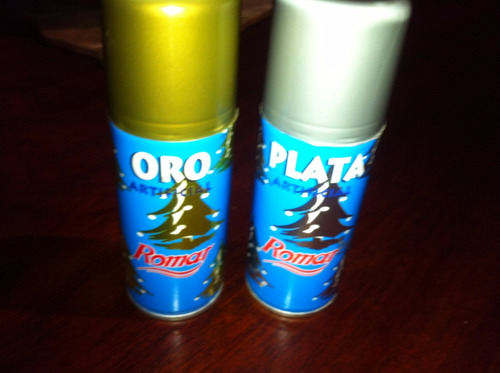 pintura spray plata metalizado 100ml rociador defectuoso.