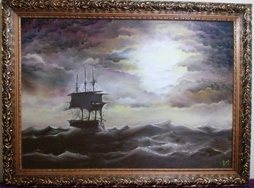 pintura tela óleo sobre tela