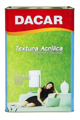 pintura textura acrílica lisa dacar premium ext. - int. 28kg